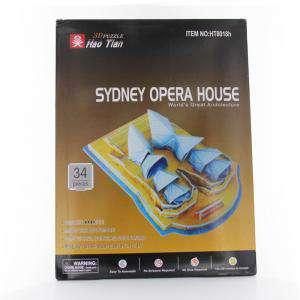 Puzzles - Puzzle Ciudades del mundo - La Ópera de Sidney (Últimas Unidades)