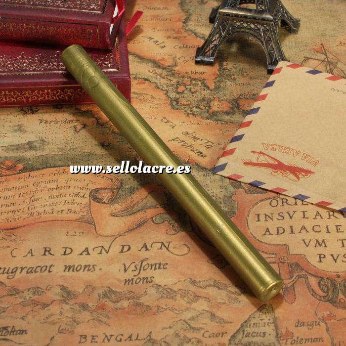 Imagen Barras para pistola Barra Lacre 10mm Flexible DoradoVerdoso Metalizado para Pistola