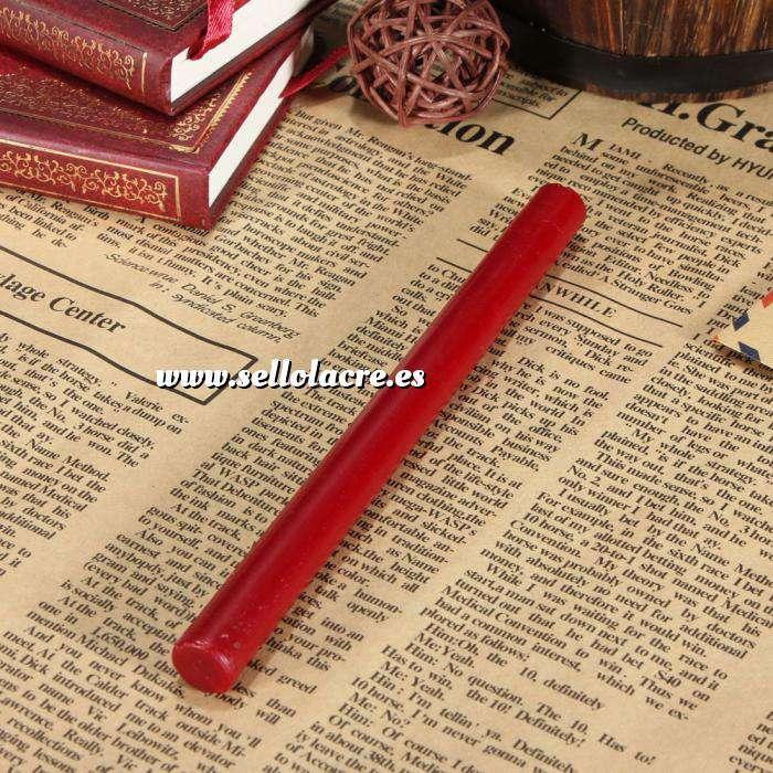 Imagen Barras para pistola Barra Lacre 10mm Flexible Rojo Pasión para Pistola (Últimas Unidades)