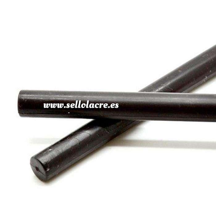 Imagen Barras para pistola Barra Lacre 12mm de Resina NEGRO para Pistola