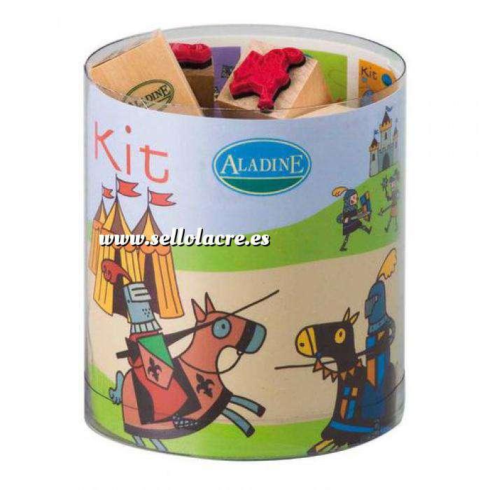 Imagen Kits Infantiles y Bautizo KIT 15 SELLOS DE CAUCHO CABALLEROS (Últimas Unidades)