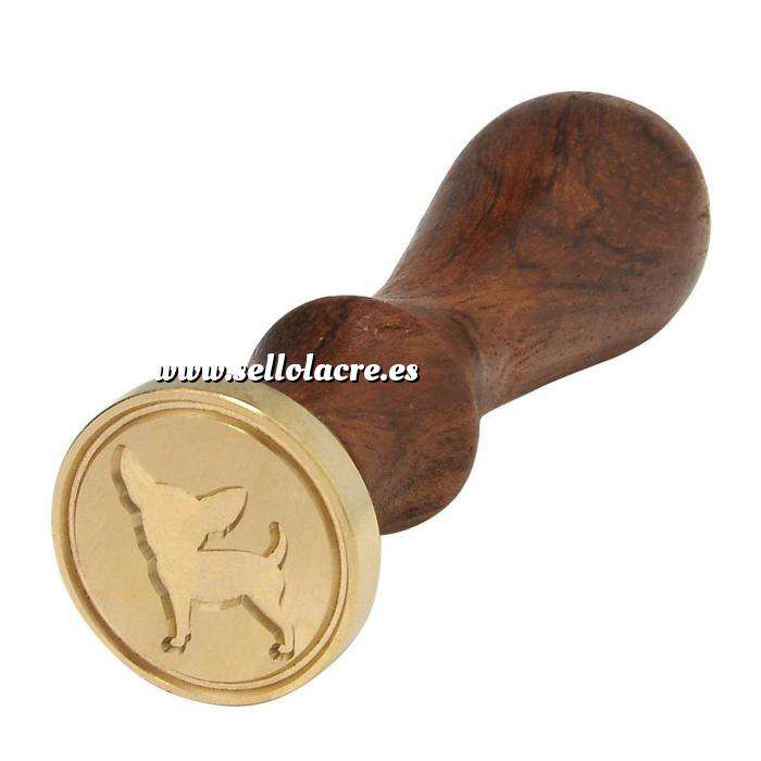 Imagen Símbolos Sello lacre mango largo - ANIMALES - chihuahua (Últimas Unidades)