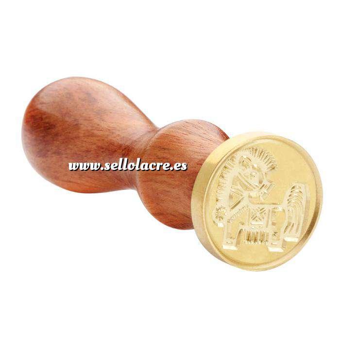 Imagen Símbolos Sello lacre mango largo - HOROSCOPO CHINO- Caballo (Últimas Unidades)