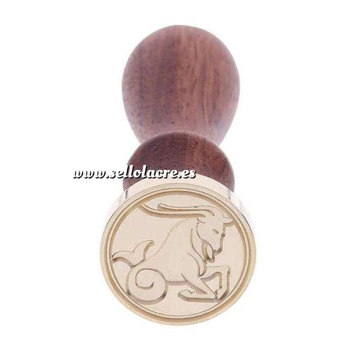 Imagen Símbolos Sello lacre mango largo - SIGNOS DEL ZODIACO 2 - Tauro 2 (Últimas Unidades)