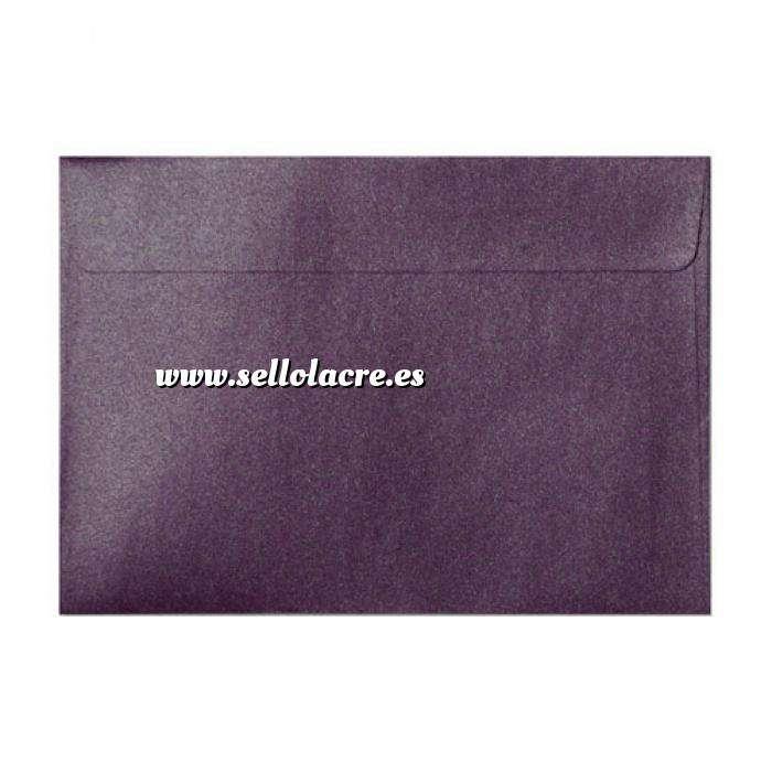 Imagen Sobres C5 - 160x220 Sobre Perlado Berenjena c5