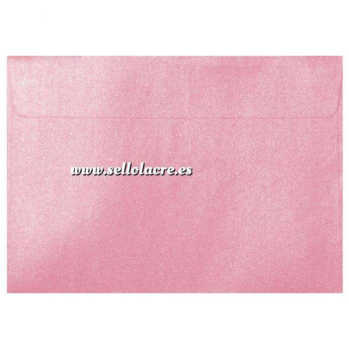 Imagen Sobres C5 - 160x220 Sobre Perlado rosa c5 (Rosa Bebé)