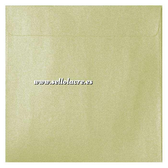 Imagen Sobres Cuadrados Sobre Perlado crema Cuadrado