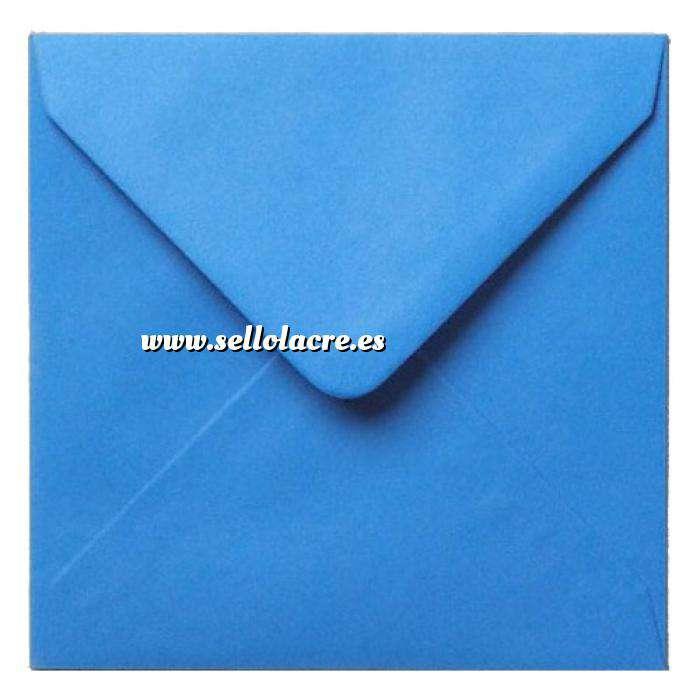 Imagen Sobres Cuadrados Sobre azul Cuadrado