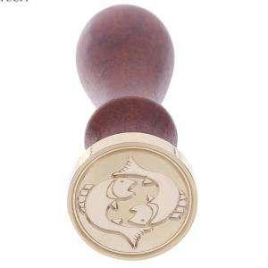 Símbolos - Sello lacre mango largo - SIGNOS DEL ZODIACO 2 - Piscis(Últimas Unidades)