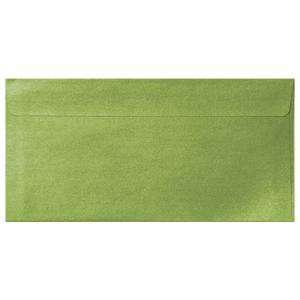 Sobre Americano DL 110x220 - Sobre Perlado verde DL (Verde Lima)