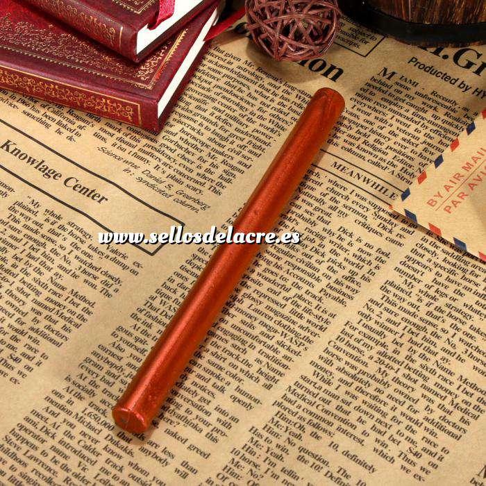 Imagen Barras para pistola Barra Lacre 10mm Flexible Rojo Cobrizo Metalizado para Pistola