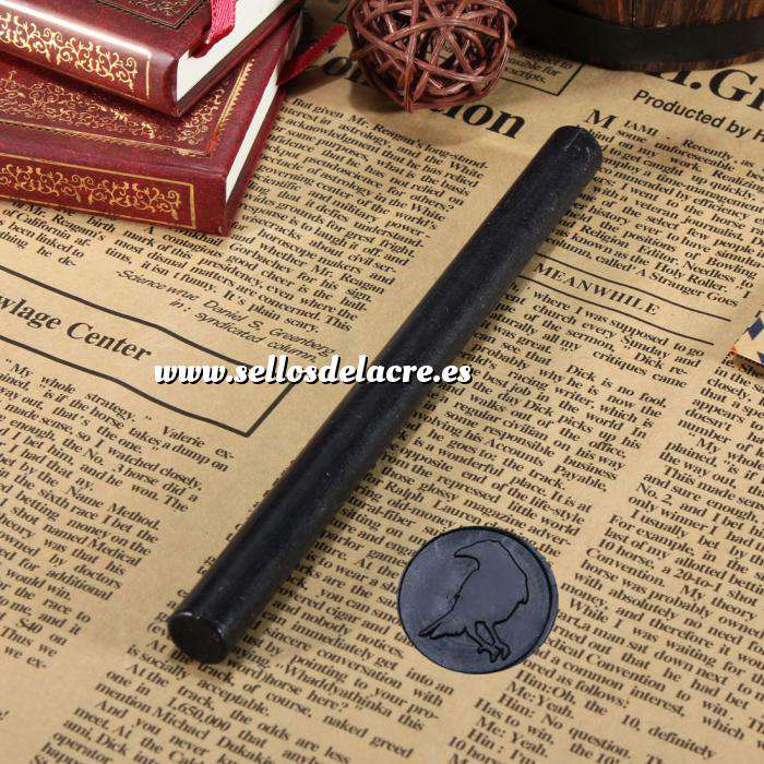 Imagen Barras para pistola Barra Lacre 10mm Flexible pistola NEGRO (Últimas Unidades)