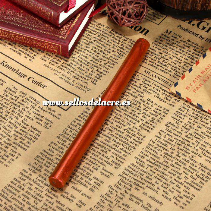 Imagen Barras para pistola Barra Lacre 10mm Flexible pistola ROJO COBRIZO METALIZADO