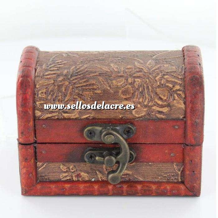 Imagen Elementos Carrito Cofre para el sello ( más muestra lacrada de tu sello)