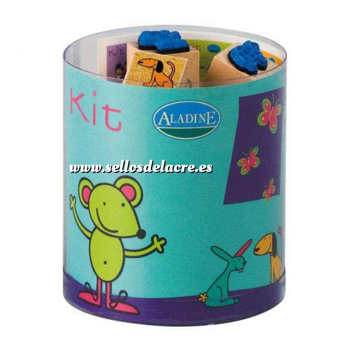 Imagen Kits 15 sellos KIT 15 SELLOS LILI Y SUS AMIGOS - ULTIMAS UDS (Últimas Unidades)