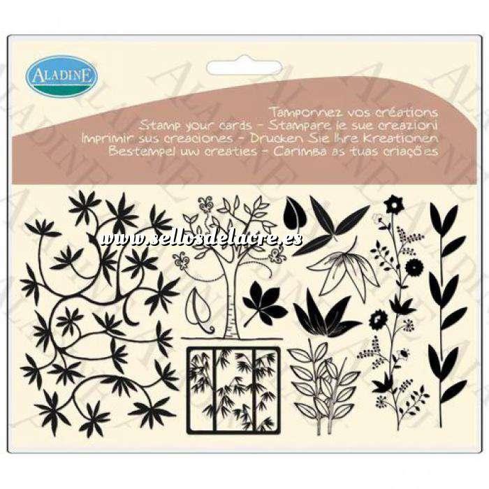 Imagen Otros Sellos árboles y hojas (Descatalogado) (ultimas uds) (Últimas Unidades)
