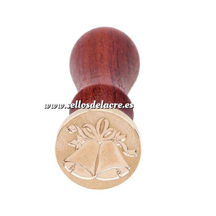 Imagen Símbolos Sello lacre mango largo - NAVIDAD - Campanas Mod.2 (Últimas Unidades)