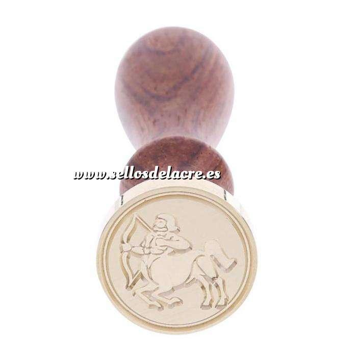 Imagen Símbolos Sello lacre mango largo - SIGNOS DEL ZODIACO 2 - Sagitario 2 (Últimas Unidades)