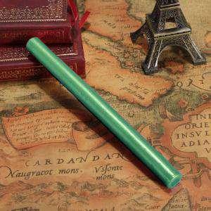 Barras para pistola - Barra Lacre 10mm Flexible pistola VERDE ESMERALDA Brillante