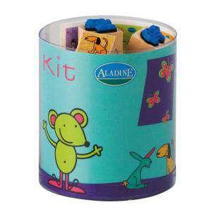 Kits Infantiles y Bautizo - KIT 15 SELLOS DE CAUCHO LILI Y SUS AMIGOS - ULTIMAS UDS (Últimas Unidades)