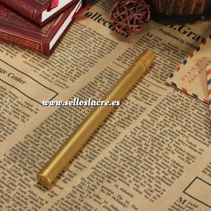 Imagen Barras para pistola Barra Lacre 10mm Flexible Dorado Metalizado para Pistola (Últimas Unidades)