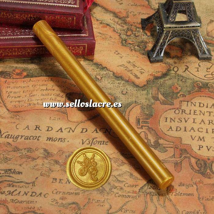 Imagen Barras para pistola Barra Lacre 10mm Flexible pistola DORADO Brillante