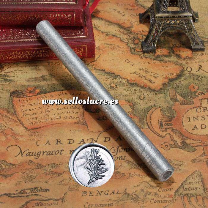 Imagen Barras para pistola Barra Lacre 10mm Flexible pistola PLATA METALIZADO