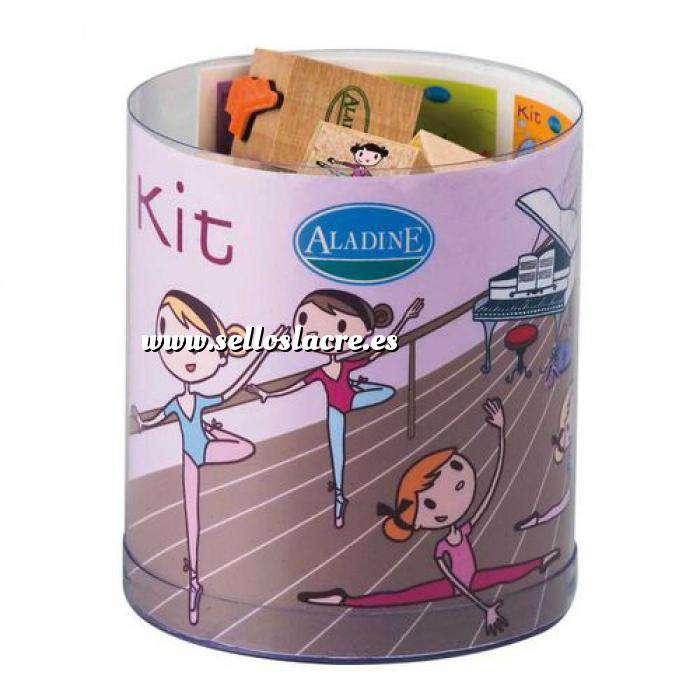 Imagen Kits Infantiles y Bautizo KIT 15 SELLOS DE CAUCHO DANZA - ULTIMAS UDS (Últimas Unidades)