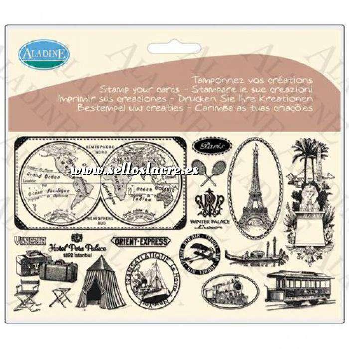 Imagen Sellos Intercambiables Sellos con motivos de viaje (Descatalogado) (ultimas uds) (Últimas Unidades)