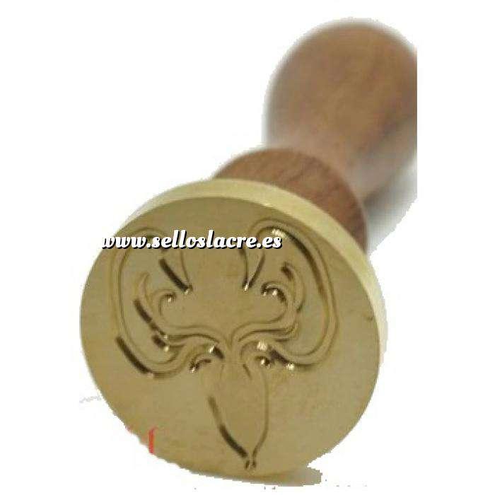 Imagen Símbolos Sello lacre mango largo - JUEGO DE TRONOS - Greyjoy (Últimas Unidades)