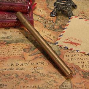 Imagen Barras para pistola Barra Lacre 10mm Flexible pistola DORADO OSCURO METALIZADO (Últimas Unidades)