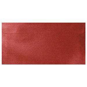 Sobre Americano DL 110x220 - Sobre Perlado Rojo DL (Rojo Cardenal)
