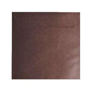 Sobres Cuadrados - Sobre textura marrón Cuadrado