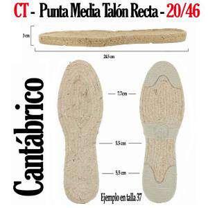 7. Suela Rejilla Plana - RP _RP RECTA Mod Rustica_T18-46