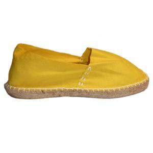 Amarillo - CLASM Alpargata Clásica cerrada Mujer Amarillo Talla 41
