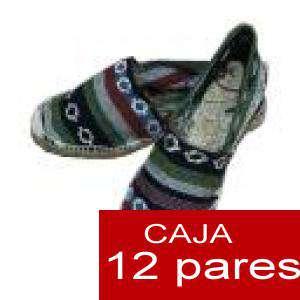 Mujer Estampadas - Alpargatas estampadas RAYAS ETNICAS 3 Caja 12 pares - OFERTA ULTIMAS CAJAS (Últimas Unidades) (duplicado) (duplicado)