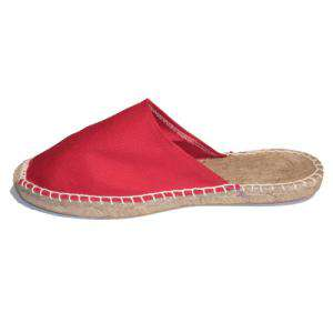 Rojo - ABRM Alpargata Abierta Mujer Rojo Talla 36