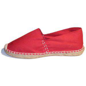 Rojo - CLASN Alpargata Clásica cerrada Rojo Talla 25