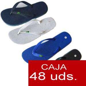 Sandalias y Chanclas - Chanclas brasil 2 hombre Colores Surtidos - Caja de 48 pares