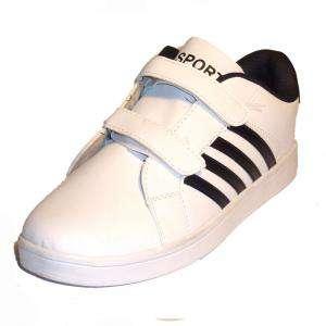 blanco-negro - ZAPD Zapatilla deporte niño  blanco-negro Talla 34