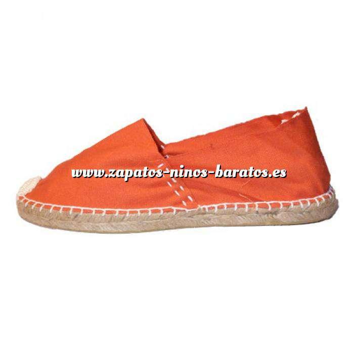 Imagen Naranja CLASN Alpargata Clásica cerrada Naranja Talla 33