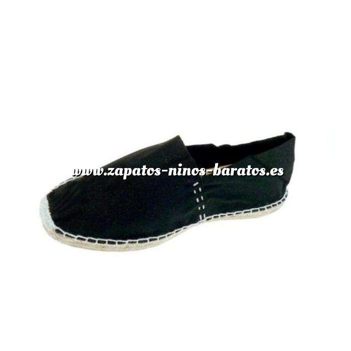 Imagen Negro CLASN Alpargata Clásica cerrada Negro Talla 35