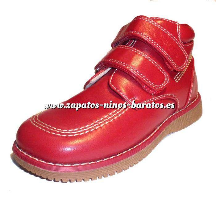 Imagen Rojo BTIN Botín niño en piel Rojo Talla 32