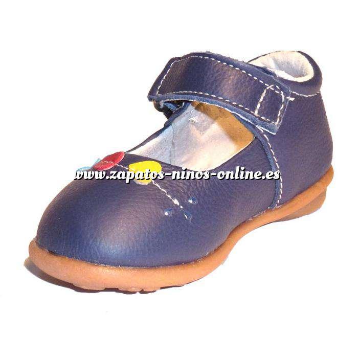 Imagen Azul ZAPN Zapatilla niño corazones Azul Talla 25