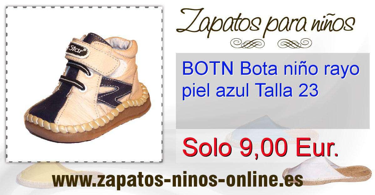 e88ef0ddef3 imagenf-9000zapatos online azul BOTN Bota nino rayo piel   azul Talla 23-9838.jpg