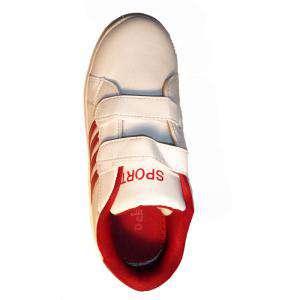 Imagen Blano-rojo ZAPD Zapatilla deporte niño Blano-rojo Talla 31