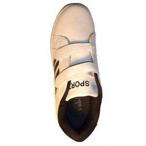 Imagen blanco-negro ZAPD Zapatilla deporte niño blanco-negro Talla 37