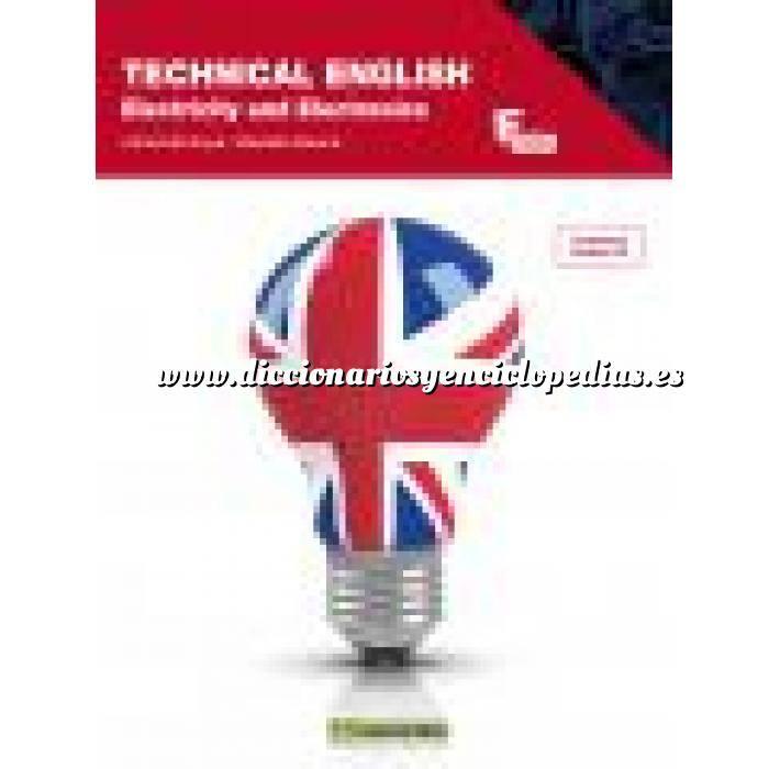 Imagen Diccionarios técnicos Technical English.Electricity and electronics (contiene cd audio)