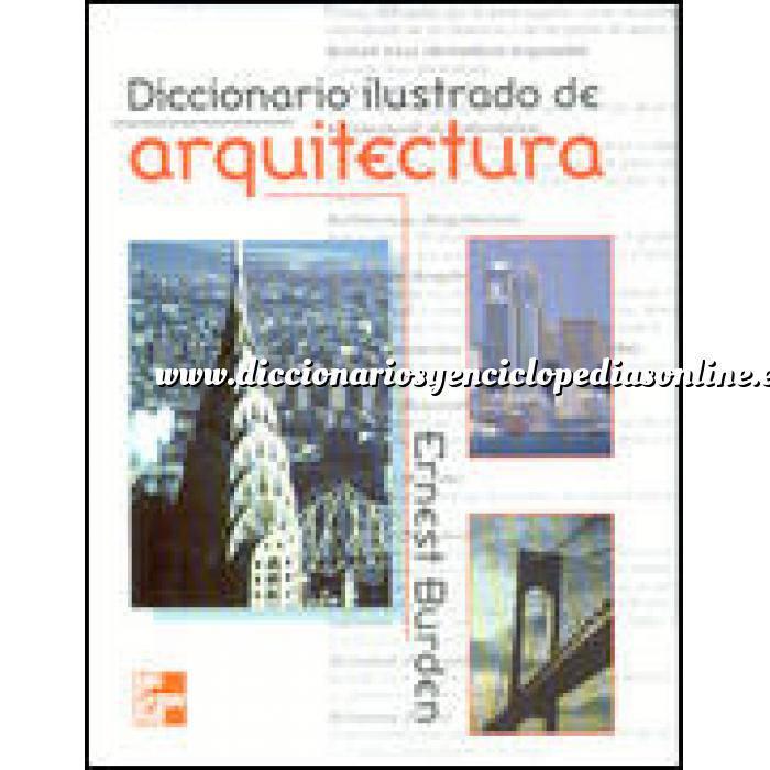 Imagen Diccionarios arquitectura Diccionario ilustrado de arquitectura