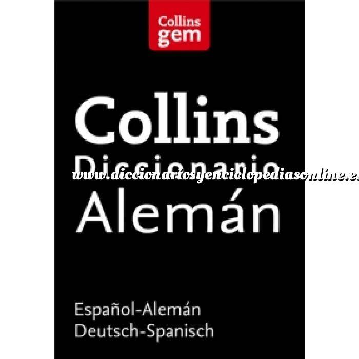 Imagen Diccionarios lingüísticos Diccionario Alemán (Gem) Español-Alemán  Deutsch-Spanisch